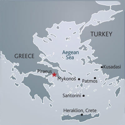 All Greek Islands Cruises Long Weekends Greece Aegean